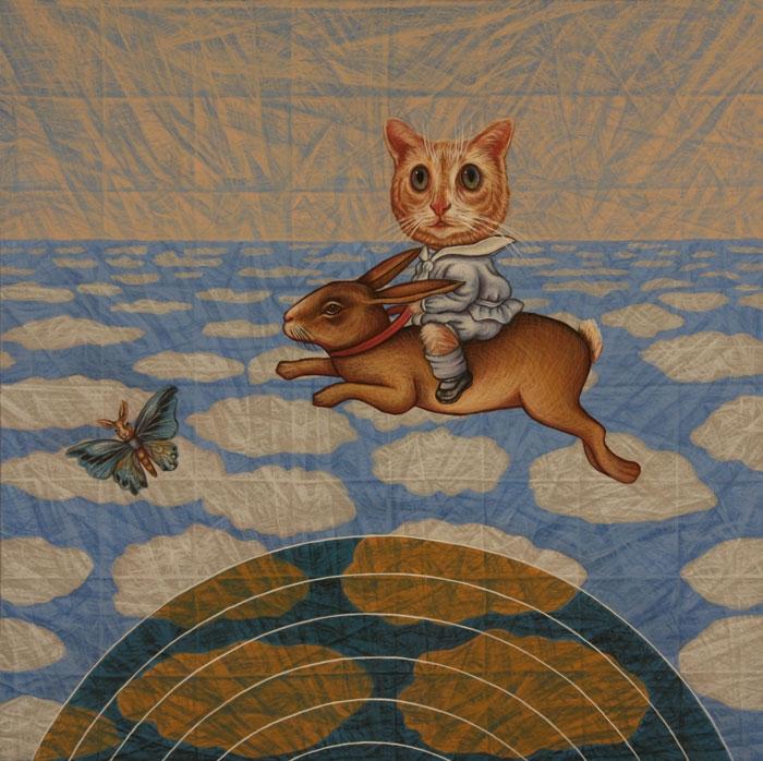 Rabbit and Kitty Boy Escape the Postmodern Radar
