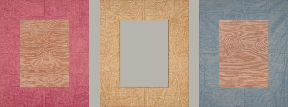 Veil/Frame/Void (triptych)