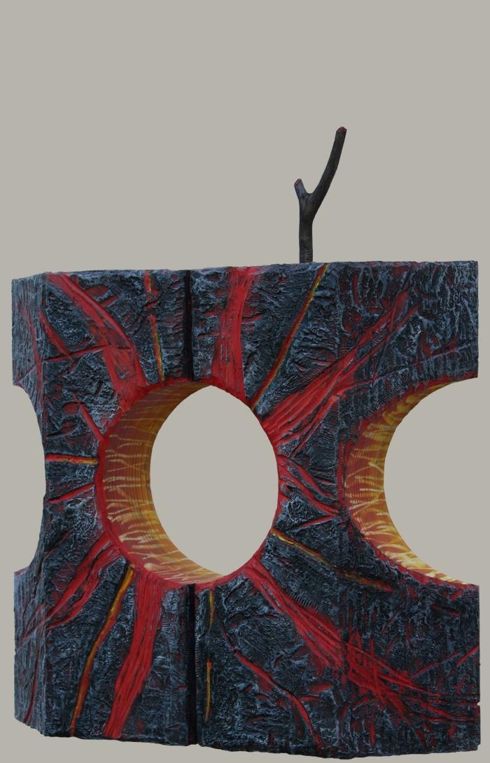 encaustic, sculpture, environmental art
